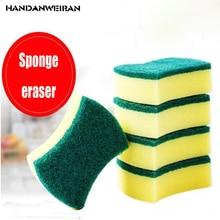 5pcsMelamine magic wipe dish sponge kitchen clean sponge   scouring cloth  waist type sponge sponge