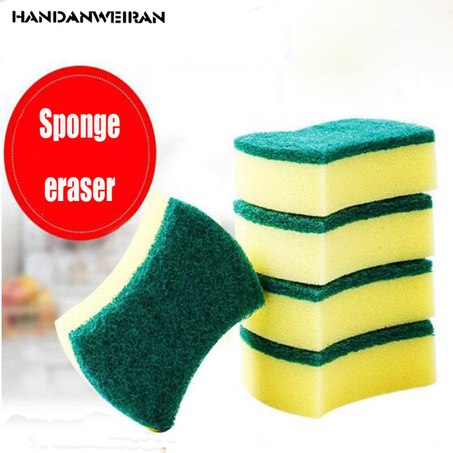 5pcs Melamine Magic Wipe Dish Sponge Kitchen Clean Scouring Cloth Dish  Washing Sponge Kitchen Cleaning Tools 2018 Hot 0c62765f621db
