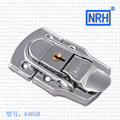 NRH 6405B cold rolled steel toggle draw latch for briefcase & suitcase 2pack chrome plating toggle latch hasp wholesale price
