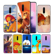 Hakuna Matata Lion King Soft Black Silicone Case Cover for OnePlus 6 6T 7 Pro 5G Ultra-thin TPU Phone Back Protective