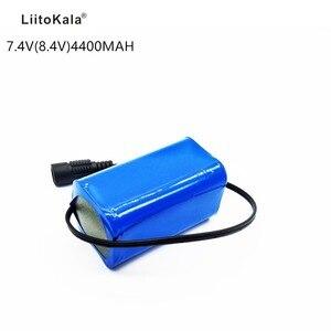 Image 1 - Li ion Pin 7.4 v 8.4 v 4400 mah Pin Gói 18650 Pin 4.4Ah Có Thể Sạc Lại Pin cho Xe Đạp/CCTV/ máy ảnh/Điện H