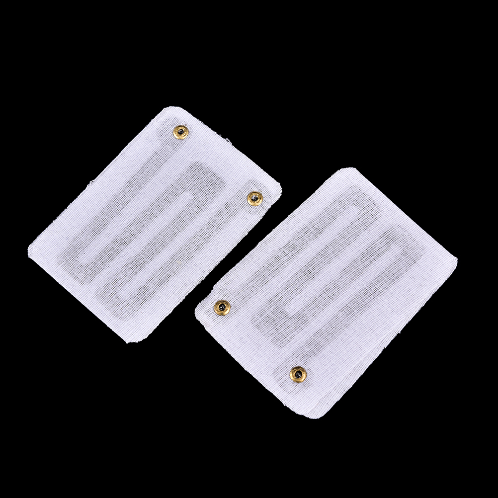 2pcs 3.7V USB Heating Pads for DIY USB Heated Gloves Warm Mouse Pads for Heat your Foot Knees Carbon fiber Heated