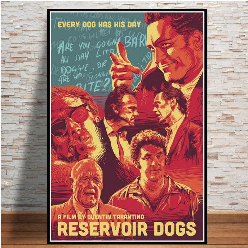 Reservoir Dogs Movie Poster 24x36 Inch Wall Art Portrait Print