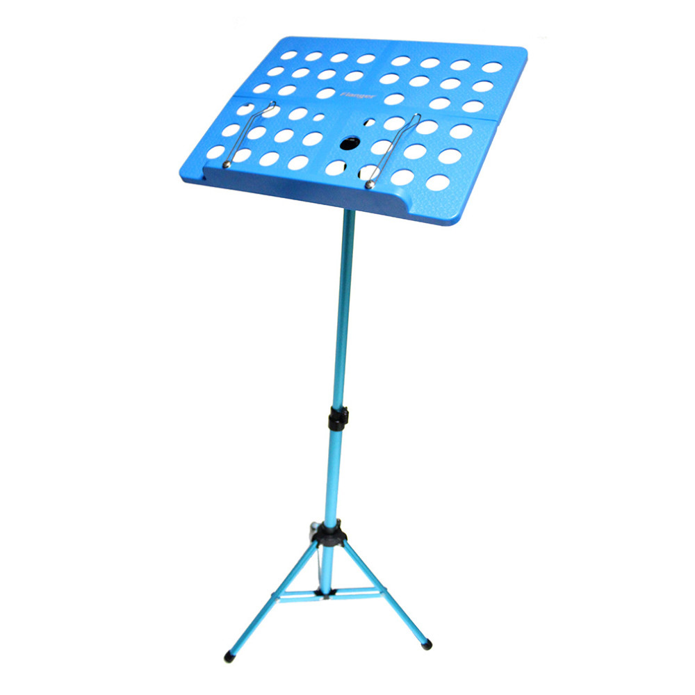 MMFC-Flanger Folding Music Tripod Stand Holder Sheet Aluminum Alloy+ABS + Carrying Bag Musical Instruments colourful sheet folding music stand metal tripod stand holder with soft case with carrying bag free shipping wholesales