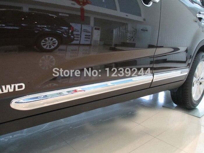 Garniture de garniture de carrosserie latérale chromée pour nouveau KIA SORENTO 2013 2014