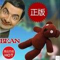 """1 Peça 9 """"Mr Bean Teddy Bear Stuffed Animal Plush Toy, Brown Boneca Figura Presente de Natal para Crianças Brinquedos Frete Grátis"""