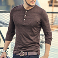 Hot Sale Classic Men T shirt Long Sleeve O neck Mens Cotton Tees Tops Male Brand Pullover Plus size Mens Casual Sweatshirts