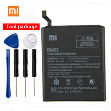 Original XIAOMI BM22 High Capacity Phone Battery For XiaoMi 5 Mi5 M5 Prime 2910mAh