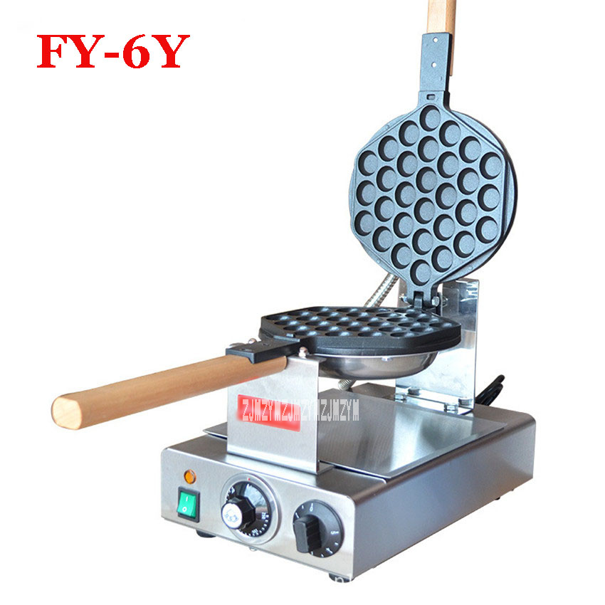 FY 6Y Egg puff machine HK style egg waffle maker;egg waffle iron Electric Waffle Pan Muffin Egg Machine, Non Stick Cooking 1PC