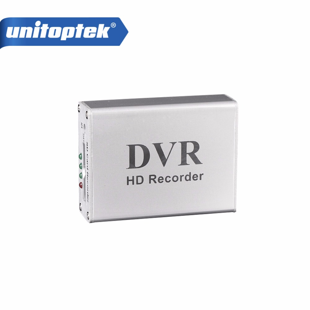 Новый 1ch Мини DVR Поддержка SD Card в режиме реального времени XBOX HD 1 канал CCTV видеорегистратор Регистраторы доска видео сжатия Цвет белый
