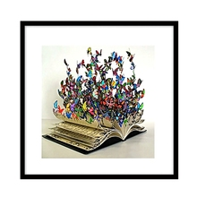 Full Drill 5D DIY Diamond Painting Book Butterfly Embroidery Cross Stitch Decor
