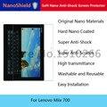 Nanoshield macio nano anti-choque protetor de tela do telefone móvel película protetora para lenovo miix 700 com embalagem de varejo