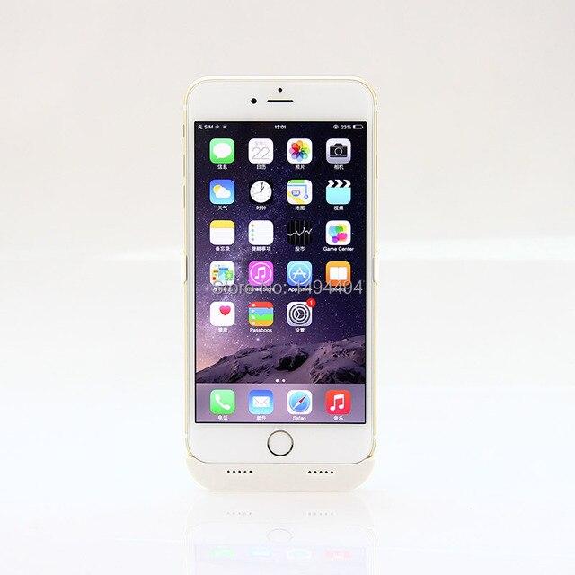 4200 мАч перезаряжаемые внешняя батарея резервного зарядного устройства чехол обложки случая обновления зарядное устройство чехол для iPhone 6 плюс
