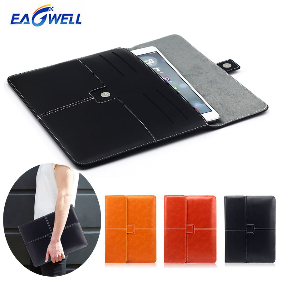 Universal 9 9.7 10 inch Tablet Sleeve Case Pouch Leather Hand Bag for iPad 2 3 4 Air 2 for Samsung 9-10 inch Tablet PC Briefcase hbt3570100 universal 3 7v 3000mah built in battery for 7 8 9 10 10 1 tablet pc silver