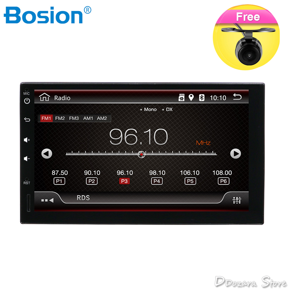 7 Double 2Din Quad Core Android 8.1 Car Radios Player Stereo GPS Navi Bluetooth WIFI USB OBD DAB Rear View Camera7 Double 2Din Quad Core Android 8.1 Car Radios Player Stereo GPS Navi Bluetooth WIFI USB OBD DAB Rear View Camera