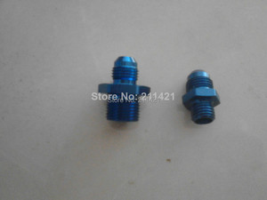 1PC OF AN6 To M12*1.5& 1PC OF AN6 To M18*1.5 Adapter Fittings For 0580254044 fuel pump(China)