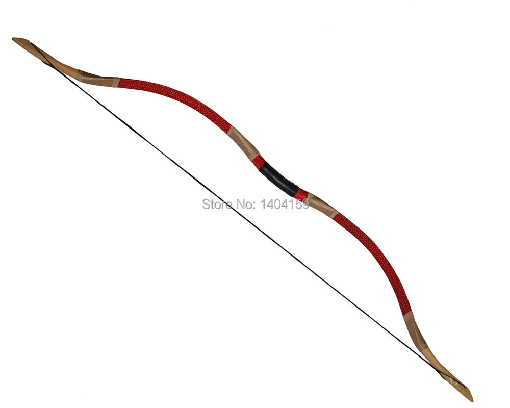 5pcs Chinese traditional recurve bow Hunting wood handcrafted red snakeskin bow 45lbs 1 piece hotsale black snakeskin wooden recurve bow 45lbs archery hunting bow
