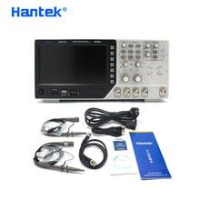 Hantek-Multímetro digital osciloscópio USB DSO4102C, portátil, 2 canais, largura de banda 100MHz, analisador lógico