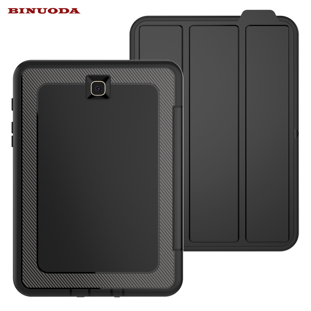 For Galaxy Tab S2 8.0 Case 3 Folding Flip Folio Magnetic Stand Cover for Samsung Galaxy Tab S2 8.0 T710 T715 Auto Wake / Sleep gt p5200 p5210 p5220 folio slim pu leather stand cover case for samsung galaxy tab 3 10 1 book flip cover auto sleep