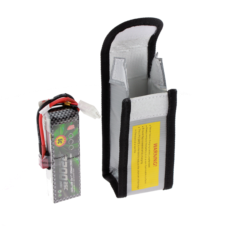 Multiple Functional Lipo Battery Bag Explosion Proof 125 64 50mm Protection For Charging In Parts Accessories From Toys