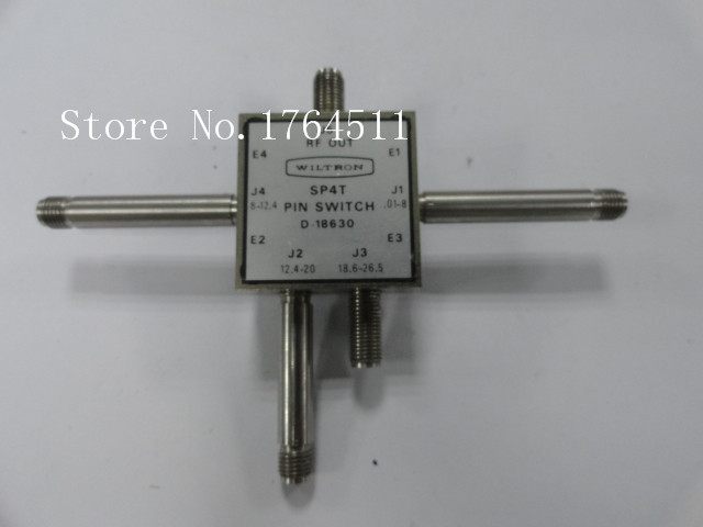 [BELLA] The Supply Of WILTRON D-18630 Single Pole Four Throw RF - 0.01-26.5GHz 2.92MM