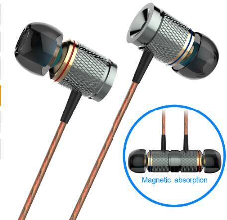 PLEXTONE X53M imán de Metal con conexión de cable en la oreja los Auriculares auriculares con micrófono para Iphone Android teléfonos ordenador MP3 pk KZ ED auriculares