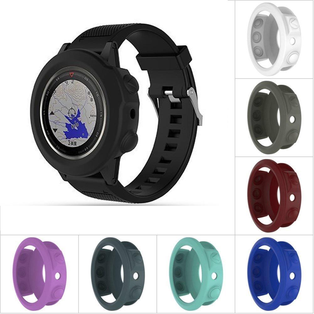 Soft Silicone Protective Case Cover For Garmin fenix 5/5S/5X Wristband Bracelet Protector Shell for Garmin Fenix 5x 5s 5 Watch цена