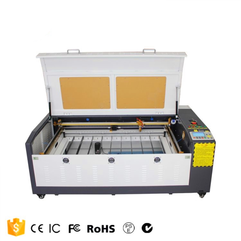 Laser Engraver Cutting 1060 60w Power Ruida 6442S Support Russian Language 110V/220V Co2 Laser Engraving Machine