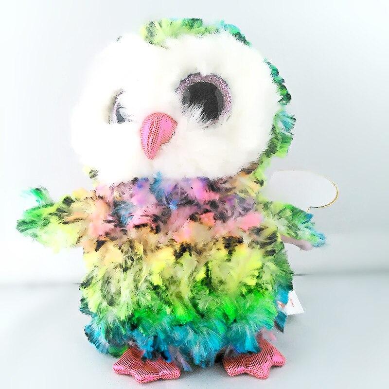 Шапочка Боос оригинальный большой Средства ухода для век плюшевые игрушки куклы для детей со дня рождения 6 Многоцветный Сова reg для малень...