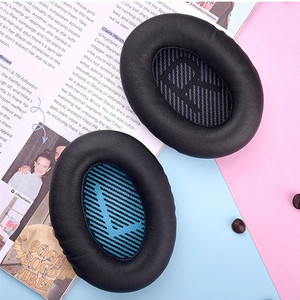 Image 5 - 양모 가죽 교체 메모리 폼 Earpads 보스 QC2 QC15 AE2/i QC25 QC35 헤드폰 귀 패드 쿠션 플라스틱 스틱