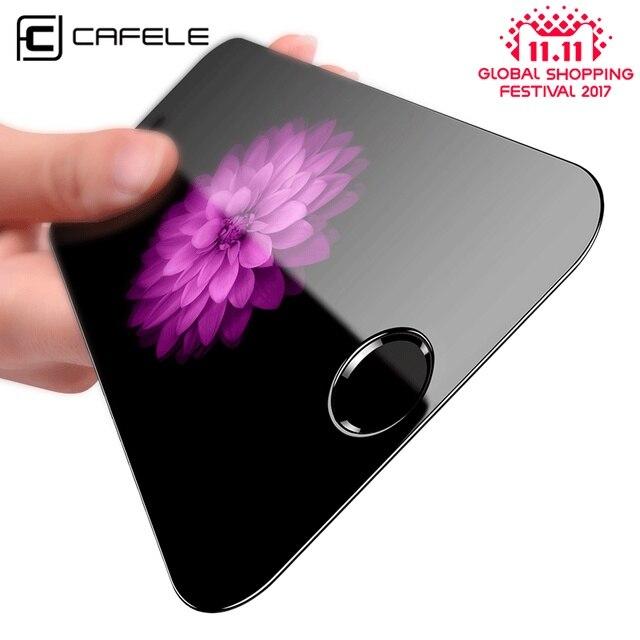 Cafele HD Ясно Экран протектор для iPhone 5S SE 0.3 мм 2.5D изогнутый край закаленное Стекло защитный Плёнки для iPhone SE 5 5S