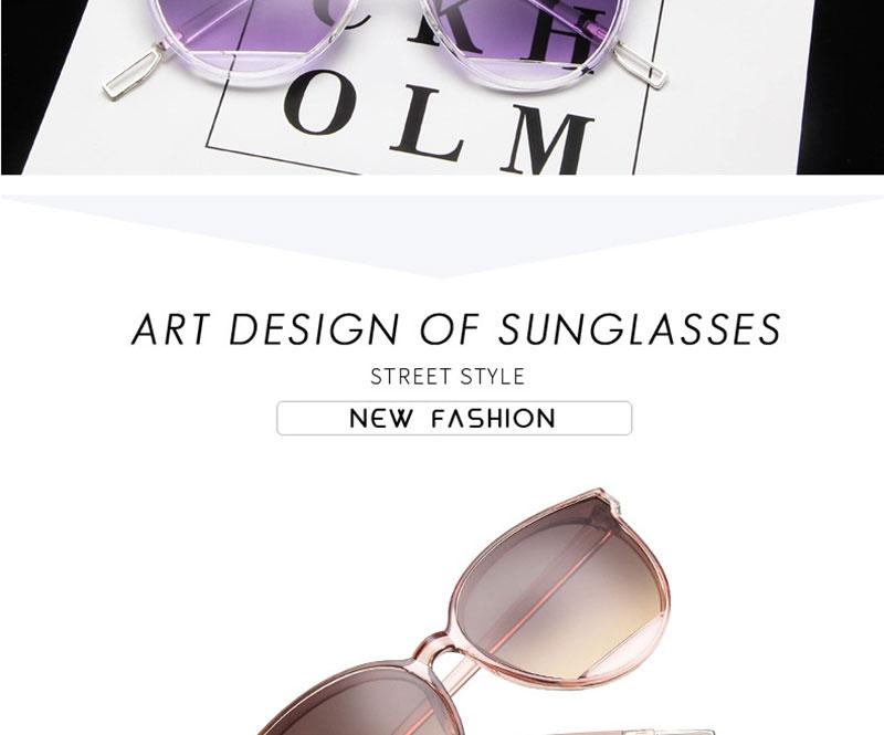 RBROVO Gafas de sol mujer vintage 2