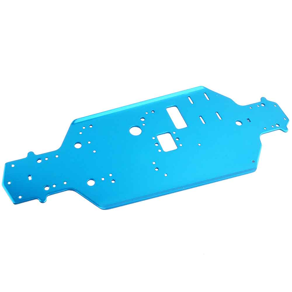 Free shipping RC car HSP 02163 Metallic Blue Chassis For RC HSP 1:10 Nitro On-Road Model Car 94122