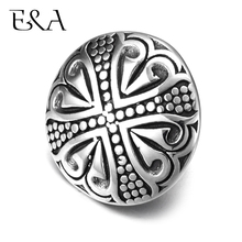 Stainless Steel Slider Beads Cabochon Double Hole 5mm Slide Charms for Leather Bracelet Supplies Jewelry Making DIY Accessories