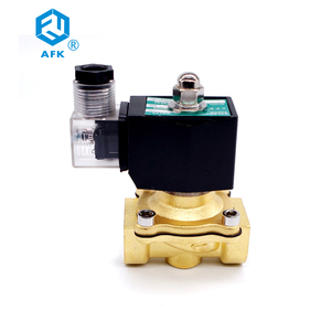 Image 2 - 2 Way Lpg Brass Gas Solenoid Valve 3/4 220VAC DN20 Electric 24V Normally Closed 150degree