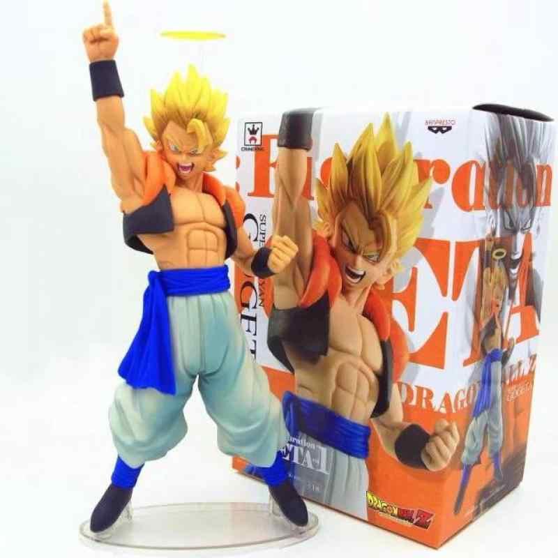 18 cm Super Saiya-jin Kakarotto Dragon Ball Anime Japonês Figuras Toy Figuras de Ação Pvc Coleção Modelo Para O Aniversário presente