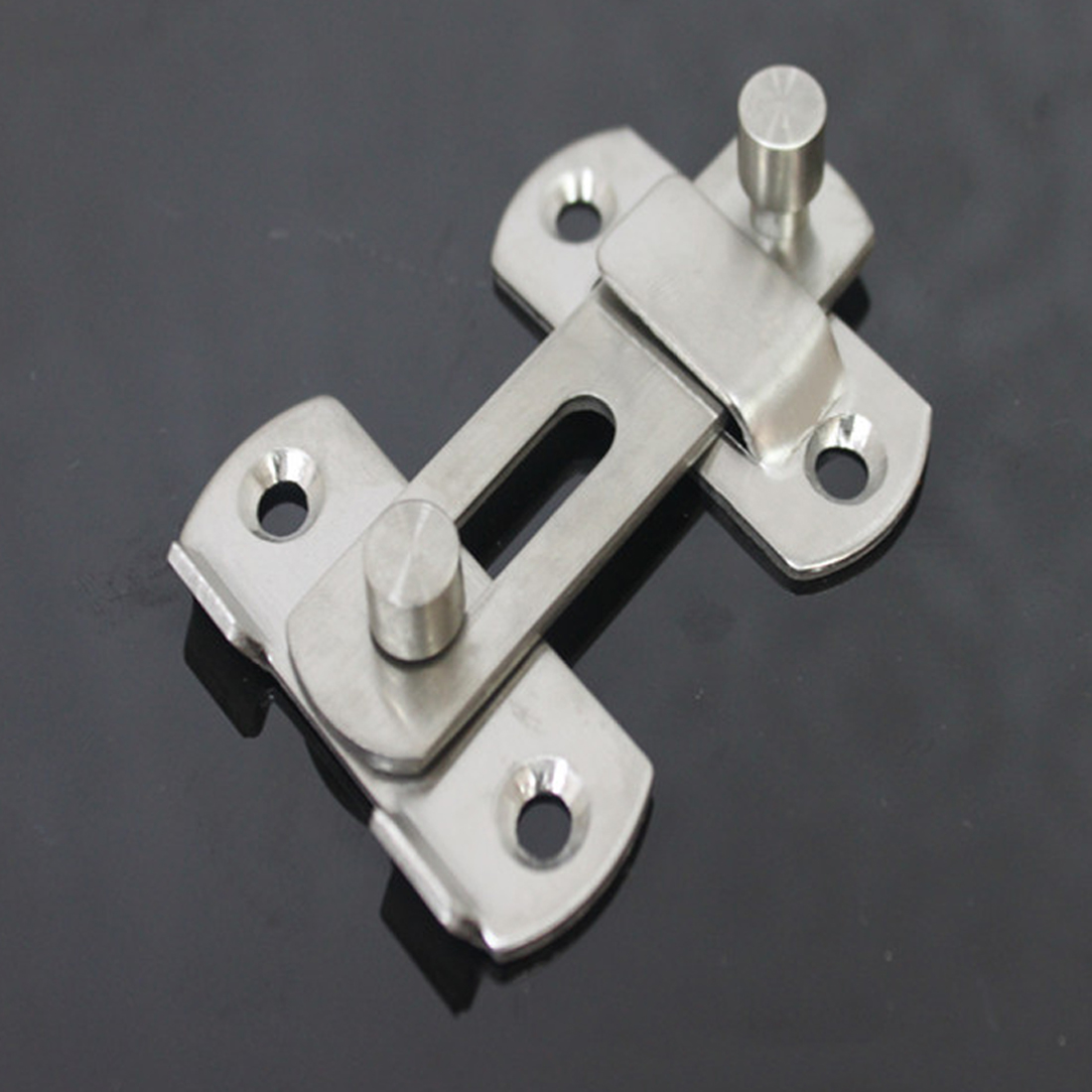 Hasp Latch Stainless Steel Hasp Latch Lock Sliding Door Lock For Window  Cabinet Fitting Room Accessorries Home Hardware
