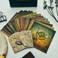 YPP ремесло винтажная серия Созвездие стикеры пергаментные для скрапбукинга/DIY ремесла/Декор с помощью открыток