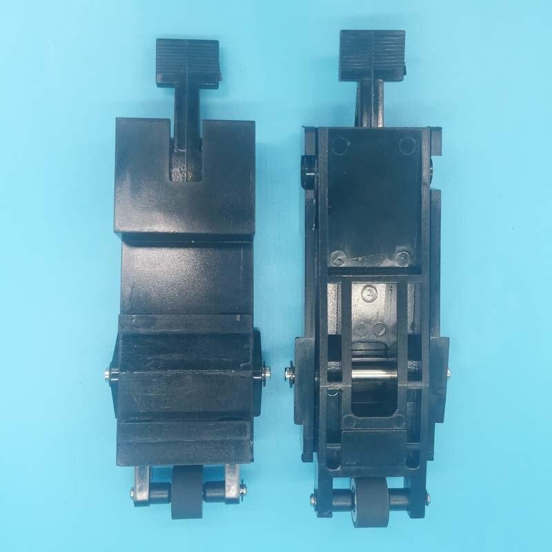 2pcs/lot Solvent plotter printer P-cut cutting paper pressure rubbe component PCUT vinyl cutter plotter pinch roller assembly