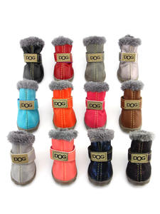 PETASIA Shoes Pet-Product Snow-Boots Non-Slip Dogs Pug Chihuahua Waterproof Winter Cotton