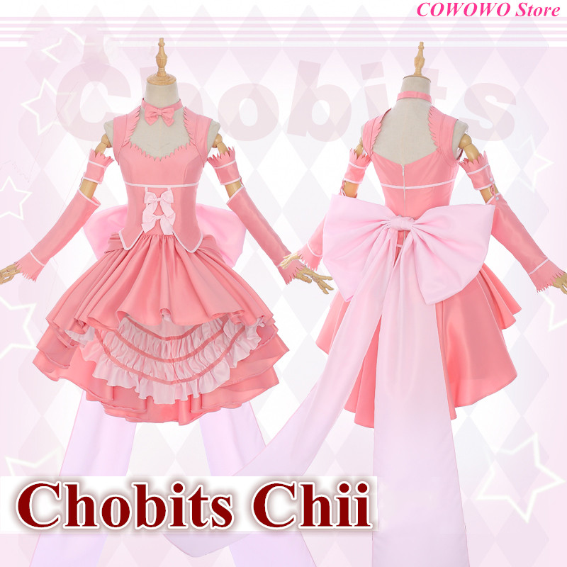 Anime! Chobits Chii Freya Gorgeous Lovely Lolita Dress Court Style Uniform Cosplay  Costume Party Outfit 2018 New Free Shipping on Aliexpress.com  9da2a14295db