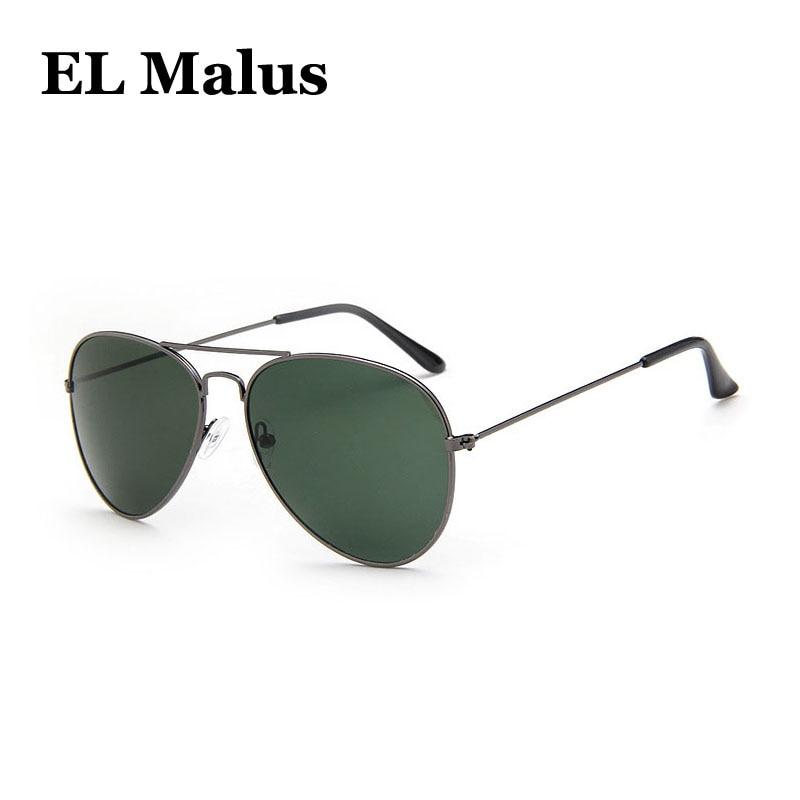 polarized Square Frame Sunglasses Men Male Night Vision Gray Silver Blue Lens Mirror Retro Brand Designer Sun Glasses Sunny el Malus