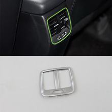 Car Accessories Decoration ABS Interior Rear Air Vent Outlet Cover Trim For Kia K2/Rio 2017 Car Styling