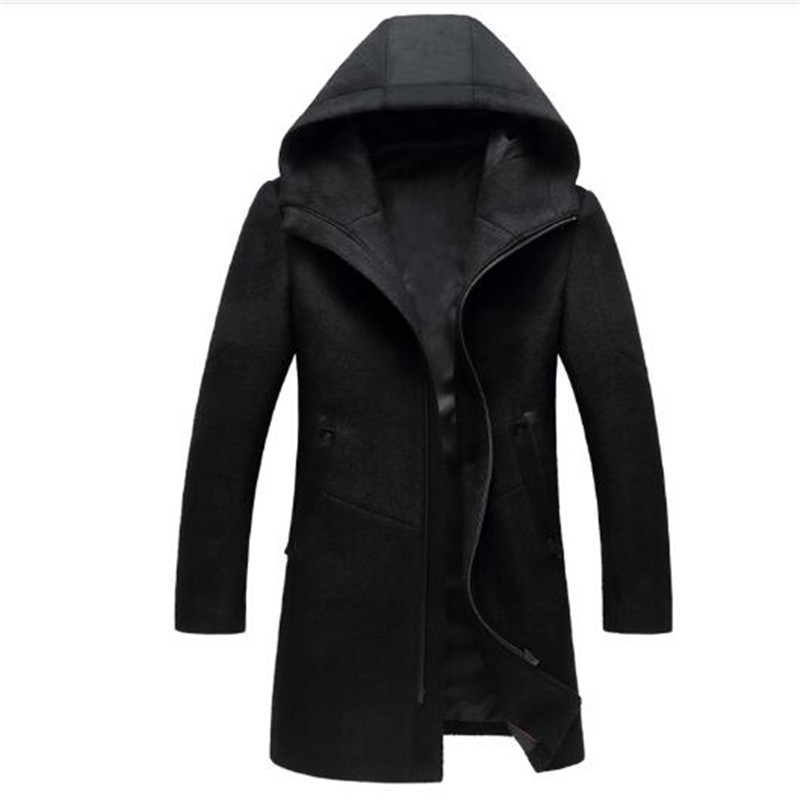 Eurasia New Full Solid 2019 Women's Mid long Winter Jacket Stand Collar Hood Design Oversize Real fur Thick Coat Parka Y170027 - 3