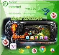 1 Gam/8 Gam DUAL Core Android 6.0 car DVD player đối với Ford Focus Mondeo Galaxy với Đài Phát Thanh stereo GPS Navigation xe đa phương tiện