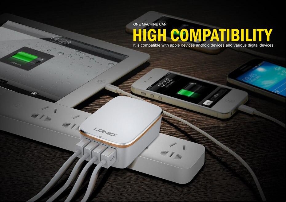 LDNIO USB TRAVEL CHARGER (6)