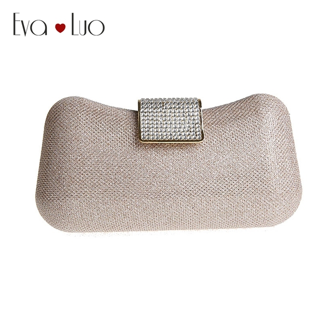 f4bcded20866 A005 DHL Fast Shipping Champagne Glitter Evening Bags Clutch Bag Women  Clutches Lady Wedding bag Handbags Purse Shoulder Bag