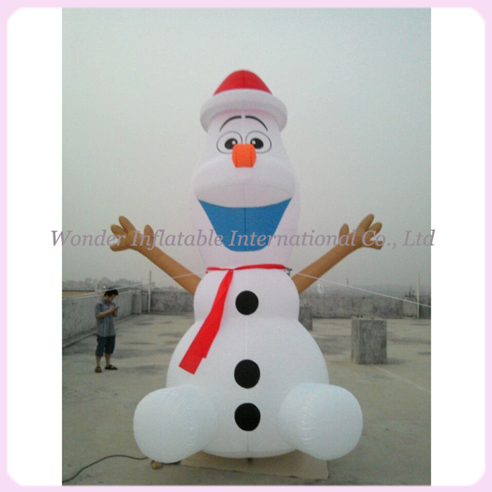 large airblown outdoor christmas inflatables olaf inflatable snowman in party diy decorations from home garden on aliexpresscom alibaba group - Outdoor Christmas Inflatables