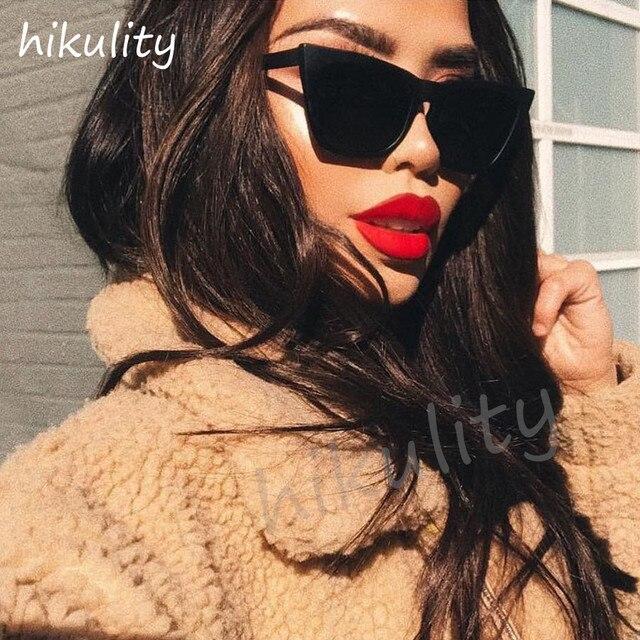 85191 Australia Style Vintage Cat Eye Sunglasses Women 2018 Luxury Brand 90s Fashion Cateye Sun Glasses