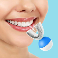 U Shape Automatic Sonic Electric Toothbrush 360 Degrees Ultrasonic Teeth Cleaner For Lazy People New Electric Toothbrush
